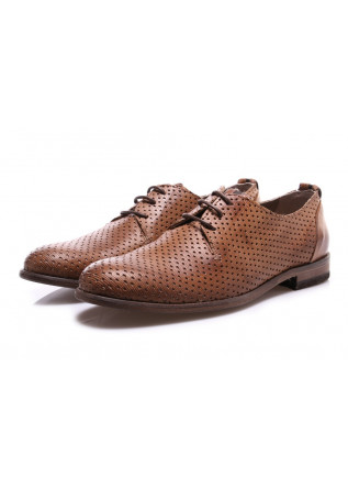 MEN'S SHOES LACE-UP LIGHT BROWN MANOVIA 52