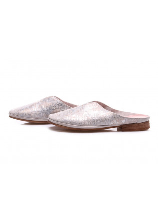 WOMEN'S SHOES SANDALS SILVER CLOCHARME / CHARME ROUTARD