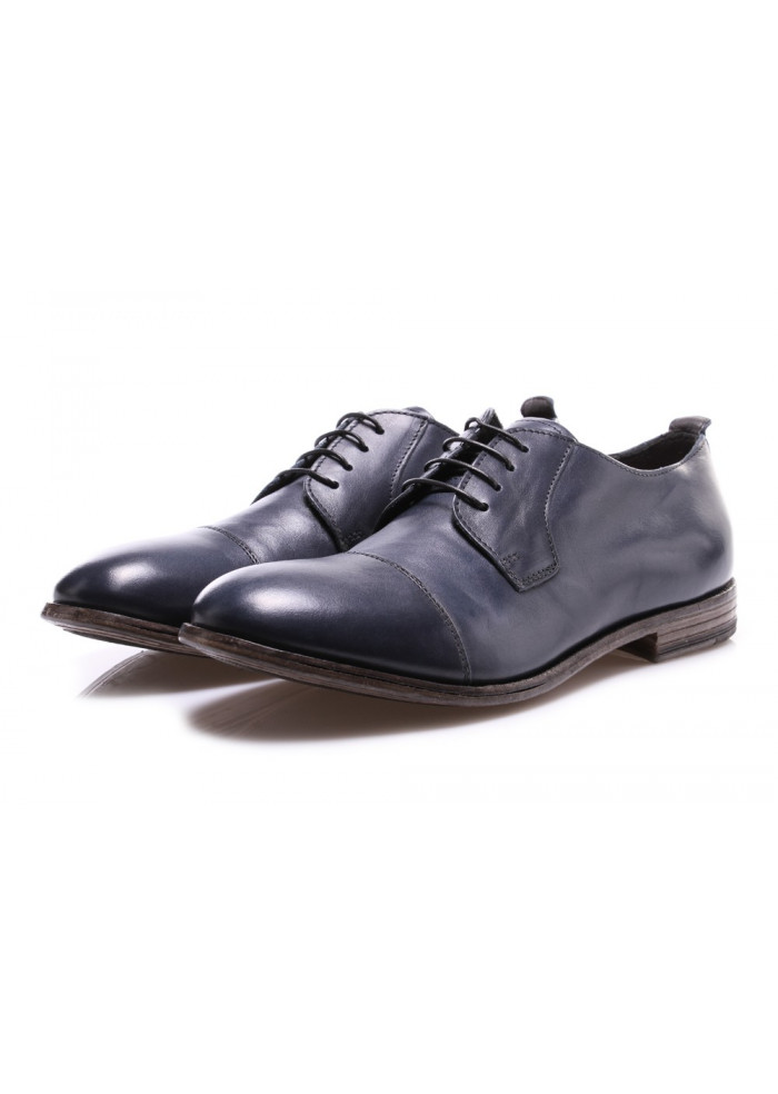 MEN'S SHOES LACE-UP BLUE MOMA