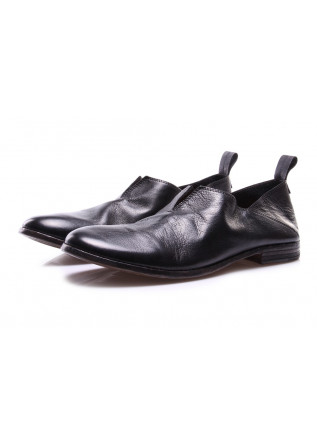 MEN'S SHOES FLAT SHOES BLACK MOMA