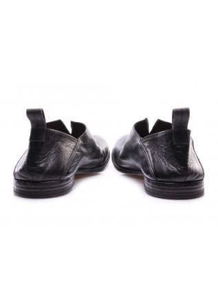 MEN'S SHOES FLAT SHOES BLACK SLIP ON MOMA