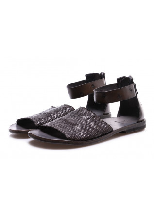WOMEN'S SHOES SANDALS BLACK MOMA