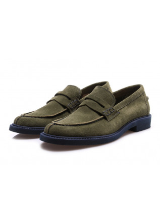 MEN'S SHOES FLAT SHOES GREEN LEREW