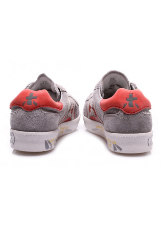WOMEN'S SHOES SNEAKERS USED LOOK GREY / RED PREMIATA