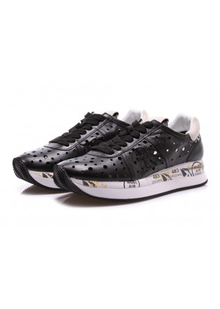 WOMEN'S SHOES SNEAKERS BLACK PREMIATA
