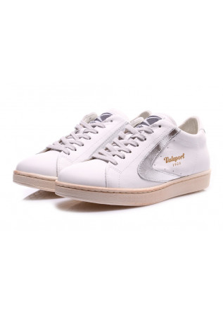 SCARPE DONNA SNEAKERS BIANCO ARGENTO VALSPORT