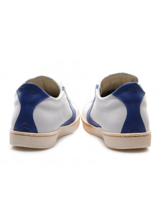 MEN'S SHOES SNEAKERS WHITE/BLUE GOLDEN LOGO VALSPORT