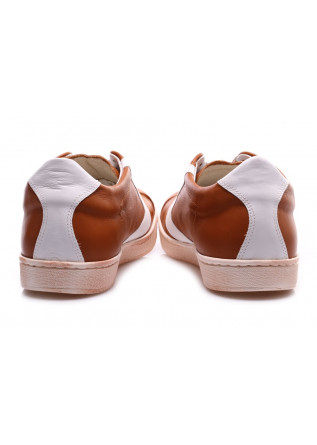 MEN'S SHOES SNEAKERS BROWN/WHITE LEATHER VALSPORT
