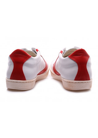 MEN'S SHOES SNEAKERS WHITE RED VALSPORT