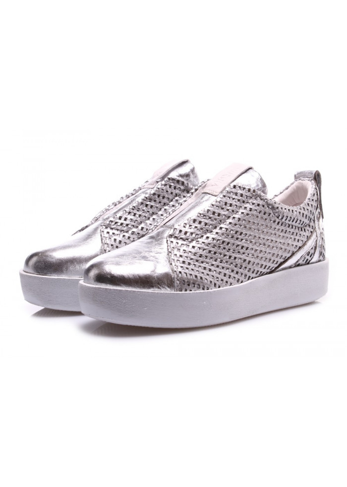 WOMEN'S SHOES SNEAKERS SILVER ANDIAFORA