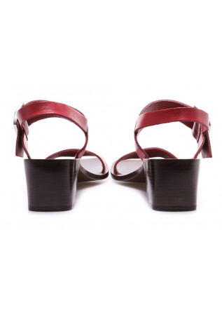 WOMEN'S SHOES SANDALS RED MANOVIA 52
