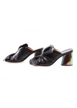 WOMEN'S SHOES SANDALS BLACK MULTICOLOUR POESIE VENEZIANE