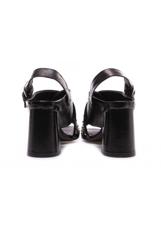 WOMEN'S SHOES SANDALS BLACK STUDS JUICE