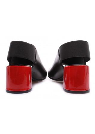 WOMEN'S SHOES SANDALS BLACK RED  JUICE