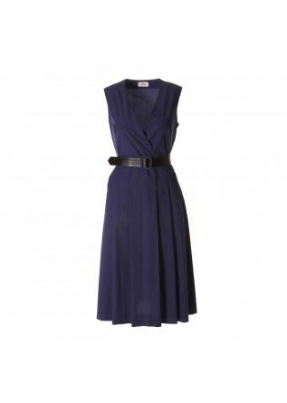 Damen Kleid Semicouture Rot Paisley