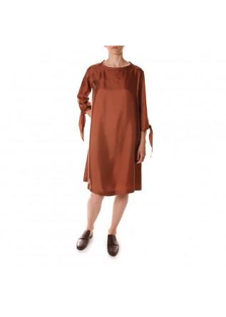 WOMEN'S CLOTHING DRESS BROWN ALYSI