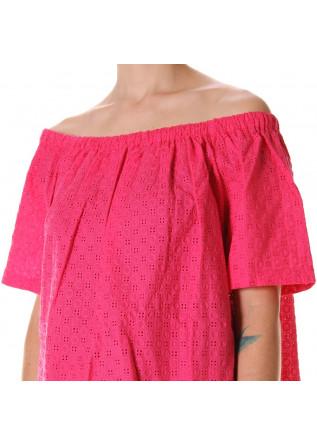 WOMEN'S CLOTHING SHIRT FUCHSIA AU PETIT BONHEUR