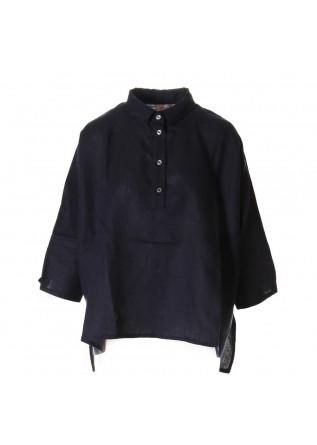 WOMEN'S CLOTHING SHIRT BLUE AU PETIT BONHEUR