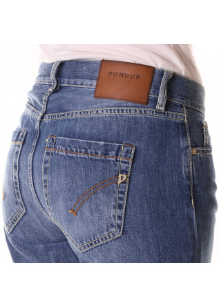 WOMEN'S CLOTHING JEANS BLUE DONDUP