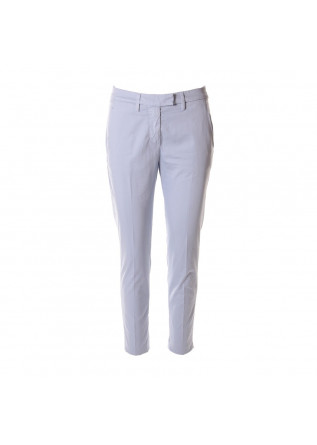 WOMEN'S CLOTHING TROUSERS LIGHT BLUE DONDUP