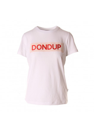 WOMEN'S CLOTHING T-SHIRTS WHITE DONDUP