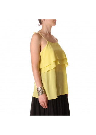 WOMEN'S CLOTHING TOPS YELLOW SEMICOUTURE
