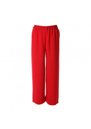 WOMEN'S CLOTHING TROUSERS RED PAGLIA