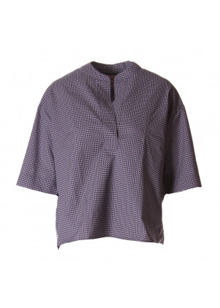 WOMEN'S CLOTHING SHIRT BLUE PAGLIA