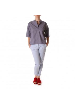 WOMEN'S CLOTHING SHIRT BLUE PAGLIA