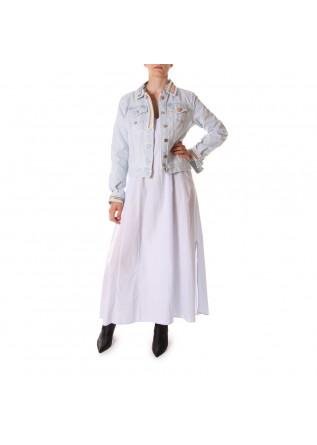 WOMEN'S CLOTHING DRESS LIGHT BLUE VIRNA DRO'