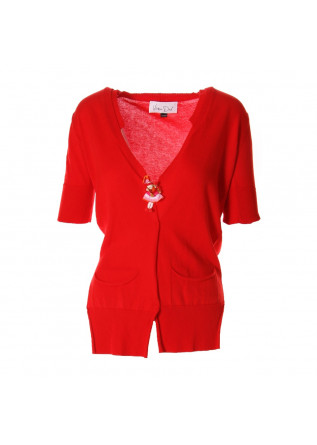 WOMEN'S CLOTHING KNITWEAR RED VIRNA DRO'