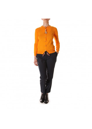 WOMEN'S CLOTHING KNITWEAR ORANGE VIRNA DRO'
