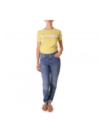 WOMEN'S CLOTHING T-SHIRTS YELLOW BEST COMPANY