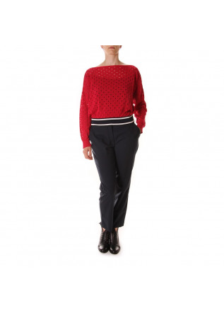 WOMEN'S CLOTHING KNITWEAR RED PHISIQUE DU ROLE
