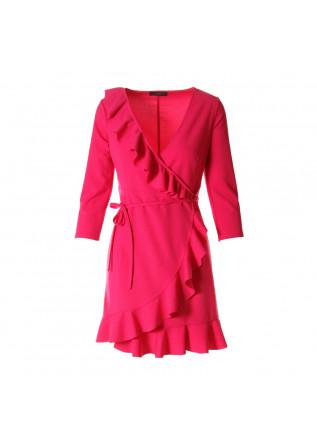 WOMEN'S CLOTHING DRESS FUCHSIA SOALLURE