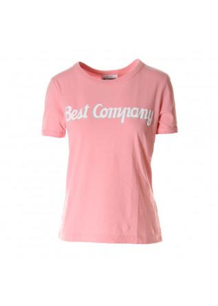 ABBIGLIAMENTO DONNA T-SHIRTS ROSA BEST COMPANY