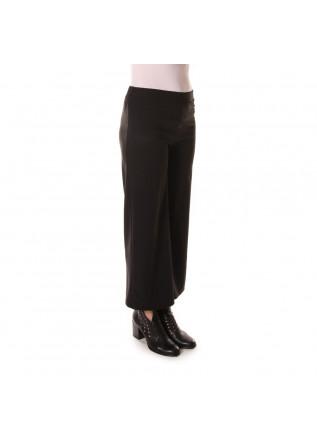 WOMEN'S CLOTHING TROUSERS HIGH WAIST BLACK MERCI