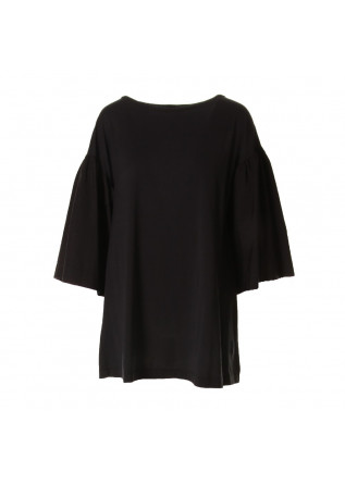 WOMEN'S CLOTHING SHIRT BLACK JUCCA