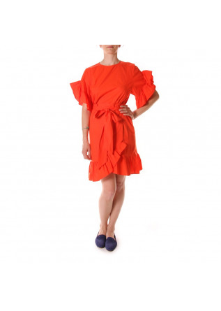 WOMEN'S CLOTHING DRESS ORANGE JUCCA