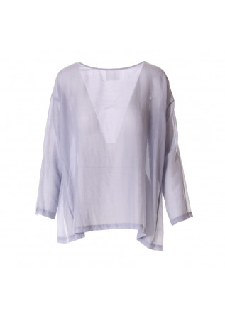 WOMEN'S CLOTHING SHIRT LIGHT BLUE JUCCA