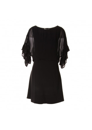 WOMEN'S CLOTHING DRESS BLACK JUCCA