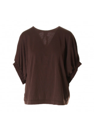 WOMEN'S CLOTHING T-SHIRTS BROWN JUCCA