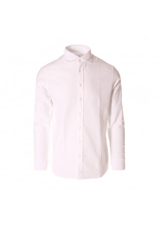 MEN'S CLOTHING SHIRT WHITE BASTONCINO