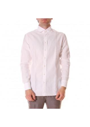 MEN'S CLOTHING SHIRT WHITE BASTONCINO