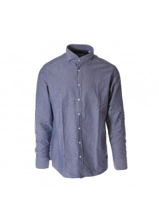 MEN'S CLOTHING SHIRT LIGHT BLUE BASTONCINO