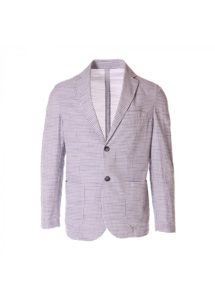 MEN'S CLOTHING JACKETS WHITE BASTONCINO