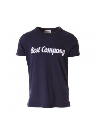 ABBIGLIAMENTO UOMO T-SHIRTS BLU BEST COMPANY