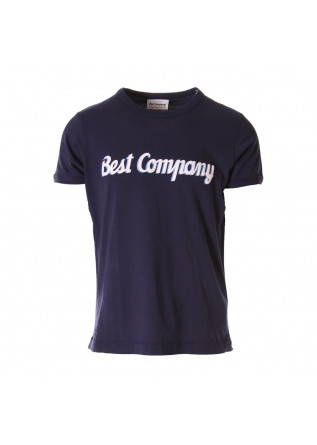 MEN'S CLOTHING T-SHIRTS BLUE BEST COMPANY
