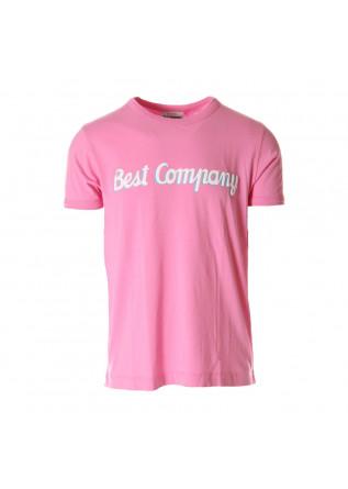 ABBIGLIAMENTO UOMO T-SHIRTS ROSA BEST COMPANY