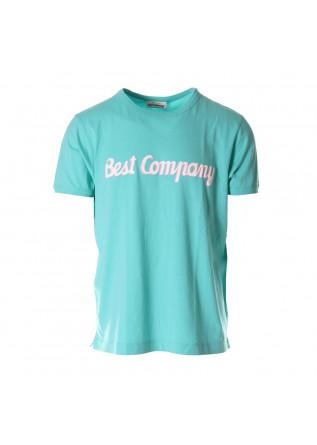 MEN'S CLOTHING T-SHIRTS GREEN BEST COMPANY